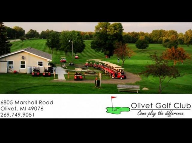 Golf Course Photo, Olivet Country Club, CLOSED 2015, Olivet, 49076