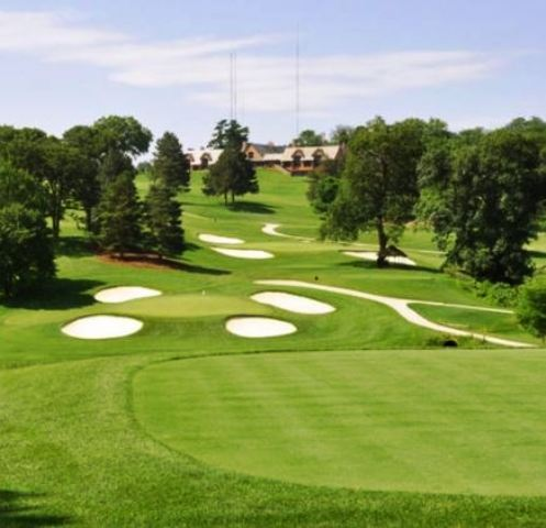 Golf Course Photo, Omaha Country Club, Omaha, 68152