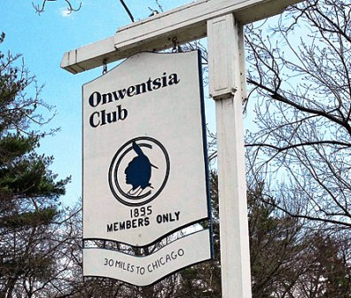 Onwentsia Club,Lake Forest, Illinois,  - Golf Course Photo