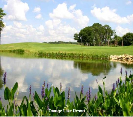 Golf Course Photo, Orange Lake Golf Resort, Cranes Bend Course, Kissimmee, 34747