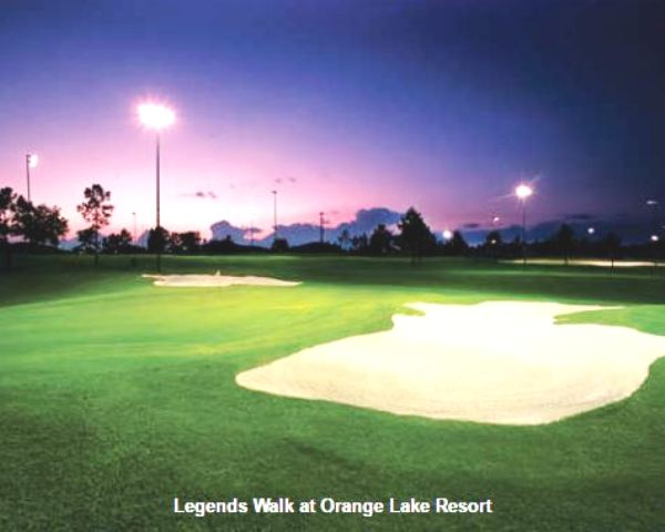 Golf Course Photo, Orange Lake Golf Resort, Legends Walk Golf Course, Kissimmee, 34747