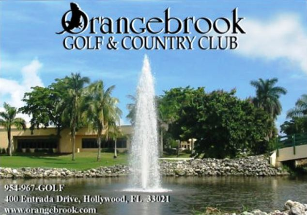 Golf Course Photo, Orangebrook Country Club, West Golf Course, Hollywood, 33021