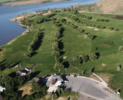 Oregon Trail Country Club,Soda Springs, Idaho,  - Golf Course Photo