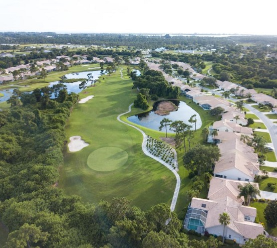 Oyster Creek Golf & Country Club, Englewood, Florida,  - Golf Course Photo