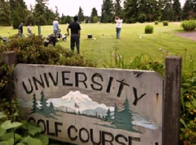 Pacific Lutheran University Golf Course, CLOSED 2011,Tacoma, Washington,  - Golf Course Photo