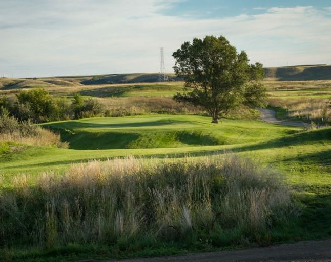 Painted Woods Golf Course, Washburn, North Dakota,  - Golf Course Photo