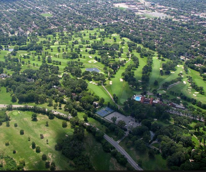 Palmer Park Golf Course, CLOSED 2018, Detroit, Michigan, 48203 - Golf Course Photo