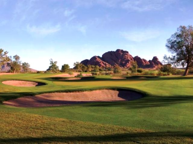 Papago Golf Course, Phoenix, Arizona, 85008 - Golf Course Photo