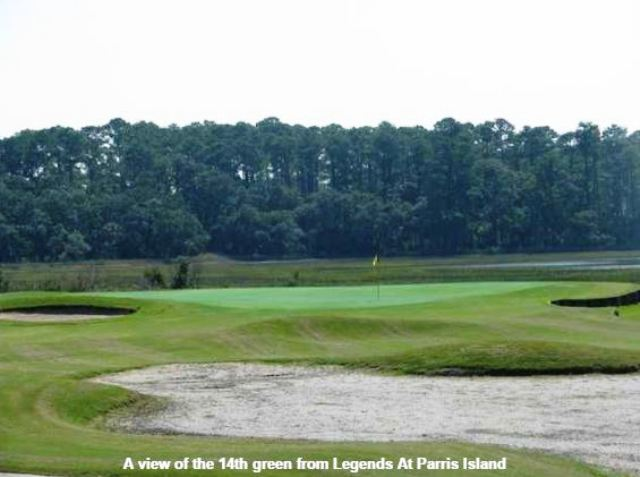 Parris Island Golf Course, Legends Golf Course, Parris Island, South Carolina, 29905 - Golf Course Photo