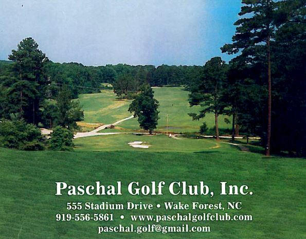 Golf Course Photo, Paschal Golf Club, Wake Forest, 27587