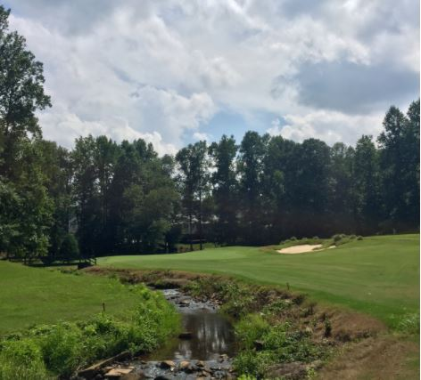 Pebble Creek Country Club, Creekside Golf Course, Taylors, South Carolina, 29687 - Golf Course Photo