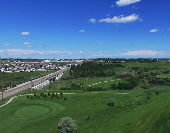 Pebble Creek Municipal Golf Course, Bismarck, North Dakota,  - Golf Course Photo