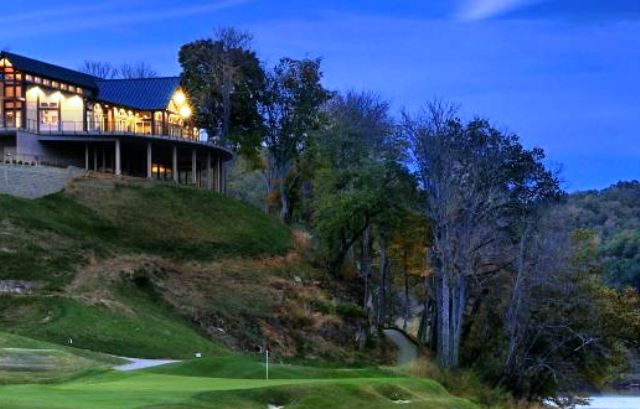 Pete Dye River Course of Virginia Tech,Radford, Virginia,  - Golf Course Photo