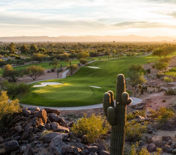 Phoenician Golf Club, Scottsdale, Arizona,  - Golf Course Photo