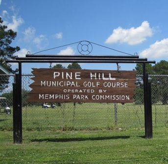 Golf Course Photo, Pine Hill Golf Course, Memphis, 38106