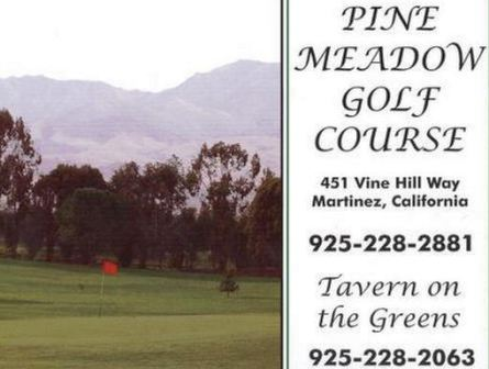 Pine Meadow Public Golf Course, CLOSED 2015, Martinez, California, 94553 - Golf Course Photo