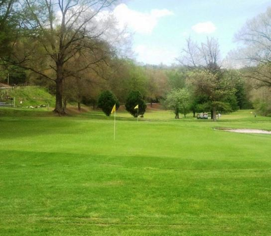 Pine Mountain Golf Course,Connellys Spring, North Carolina,  - Golf Course Photo