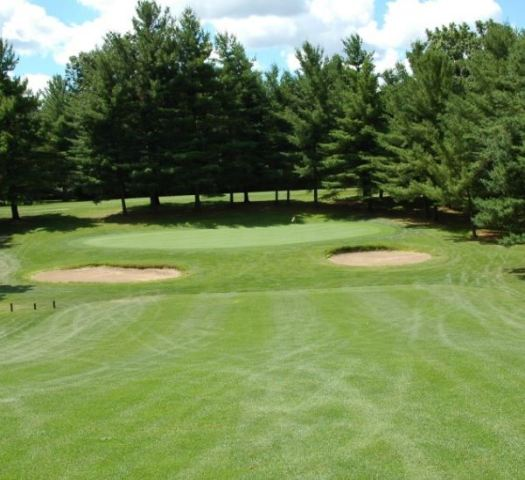 Golf Course Photo, Pine View Golf Course, Championship Course, Ypsilanti, 48197