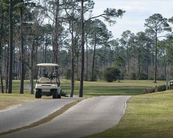 Pine Bayou Golf Course, CLOSED 2011, Gulfport, Mississippi,  - Golf Course Photo