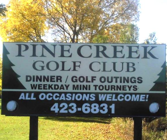 Pine Creek Golf Course, Mason City, Iowa,  - Golf Course Photo
