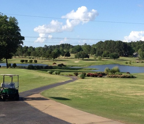 Pine Hills Country Club, CLOSED 2013, Calhoun, Louisiana,  - Golf Course Photo