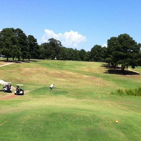 Golf Course Photo, Pine Hills Country Club, Smackover, Arkansas, 71762