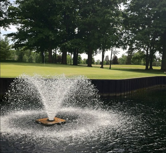 Golf Course Photo, Pine River Country Club, Alma, Michigan, 48801