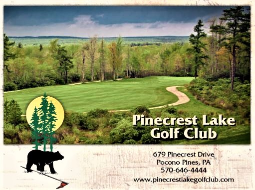 Golf Course Photo, Pinecrest Lake Golf Club, Pocono Pines, 18350