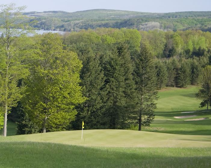 Pinecroft Golf Plantation, Benzonia, Michigan,  - Golf Course Photo