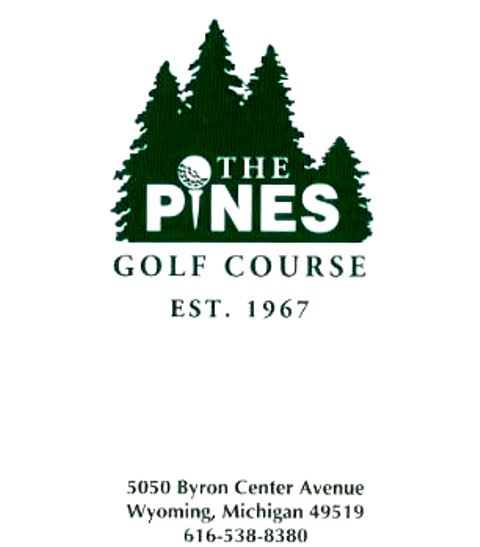 Golf Course Photo, Pines Golf Course, Wyoming, 49509