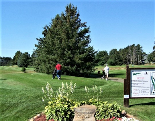 Pinewood Golf Course, Elk River, Minnesota,  - Golf Course Photo