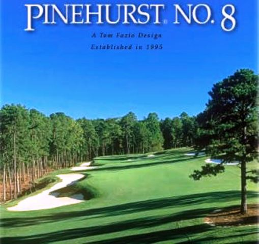 Pinehurst Resort & Country Club -No.8,Pinehurst, North Carolina,  - Golf Course Photo