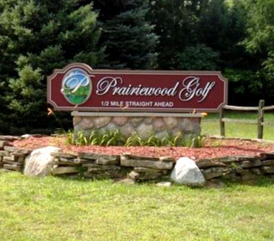 Prairiewood Golf Course, CLOSED 2014,Otsego, Michigan,  - Golf Course Photo