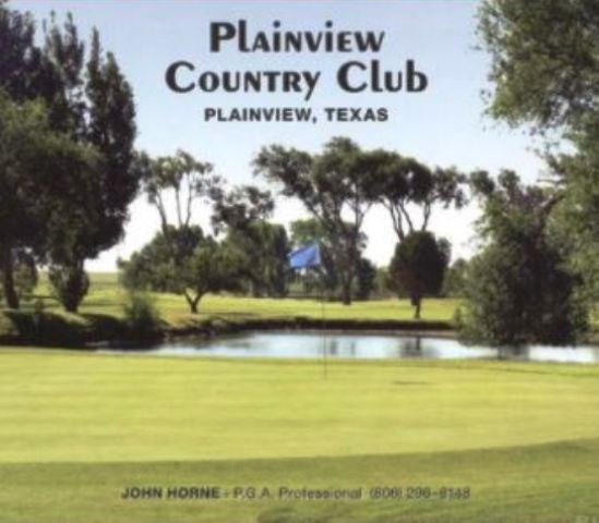 Golf Course Photo, Plainview Country Club, Plainview, Texas, 79072