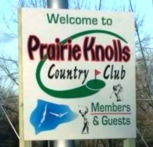 Prairie Knolls Country Club, New Sharon, Iowa,  - Golf Course Photo