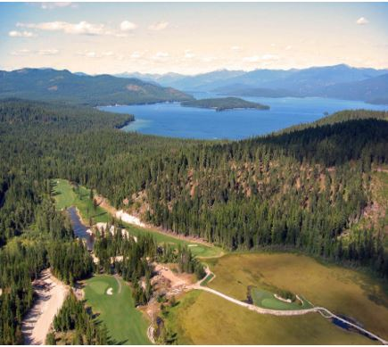 Priest Lake Golf Club, Priest Lake, Idaho, 83856 - Golf Course Photo