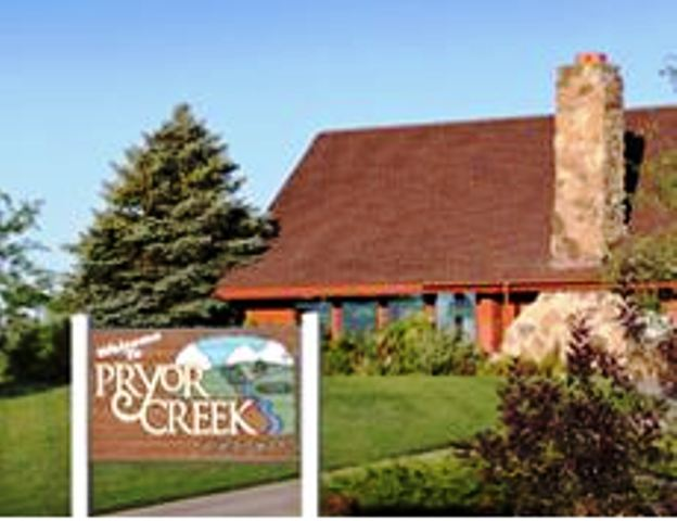 Pryor Creek Municipal Golf Course, Pryor, Oklahoma,  - Golf Course Photo