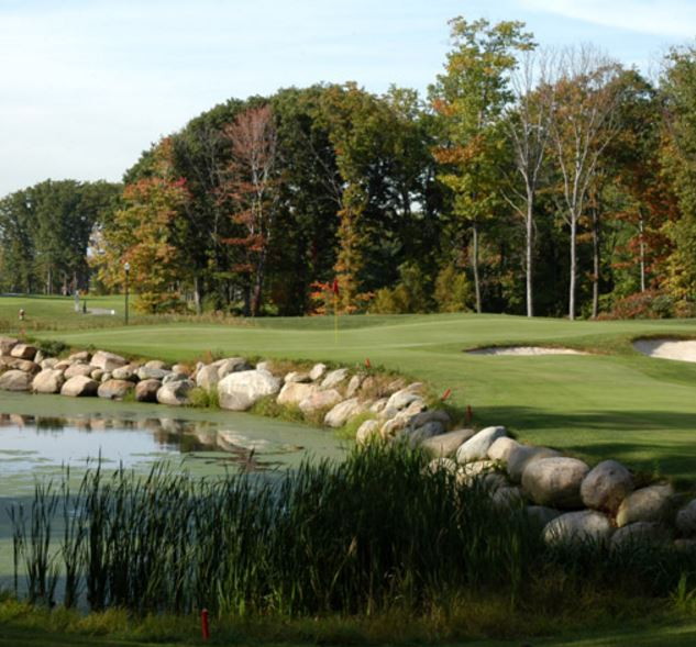 Golf Course Photo, Quail Hollow Country Club, The Weiskopf / Moorish Golf Course, Painesville, 44077
