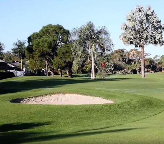 Golf Course Photo, Quail Run Golf Club, Naples, 34105