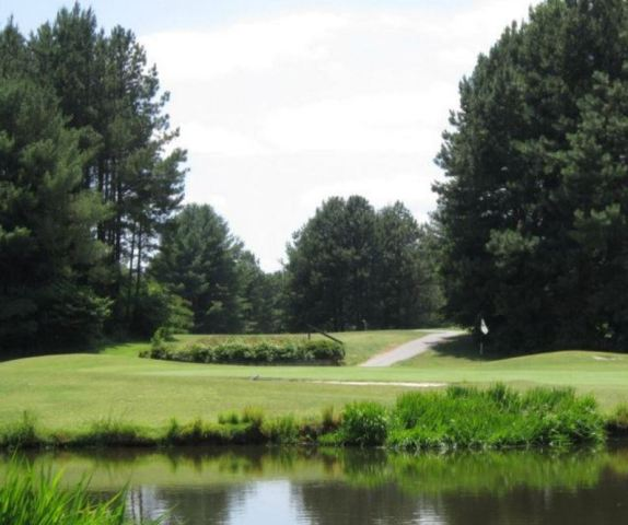 Quaker Meadows Golf Club, Eighteen Hole,Morganton, North Carolina,  - Golf Course Photo