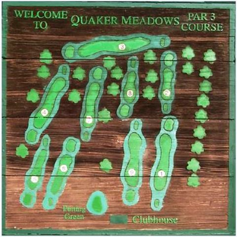 Golf Course Photo, Quaker Meadows Golf Club, Par Three, Morganton, 28655