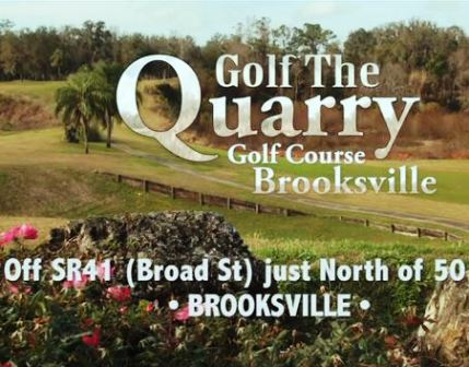 Quarry Golf Course & Driving Range, CLOSED 2015,Brooksville, Florida,  - Golf Course Photo