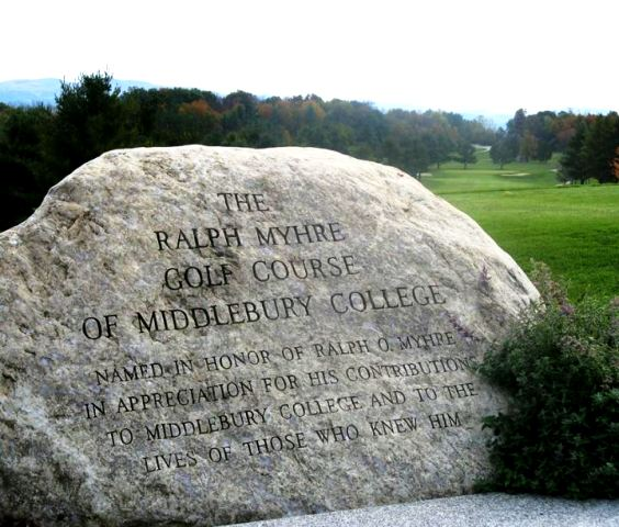 Ralph Myhre Golf Course,Middlebury, Vermont,  - Golf Course Photo