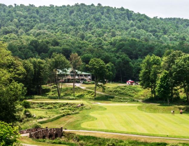 Golf Course Photo, Raven Golf Club At Snowshoe Resort, Snowshoe, West Virginia, 26209