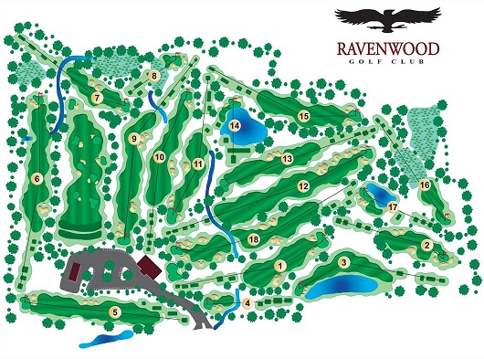 Ravenwood Golf Club, Victor, New York, 14564 - Golf Course Photo