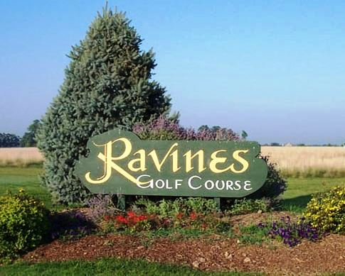 Ravines Golf Course,West Lafayette, Indiana,  - Golf Course Photo