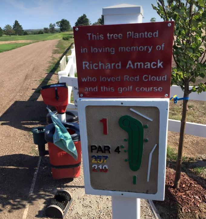 Red Cloud Golf Course, Red Cloud, Nebraska,  - Golf Course Photo