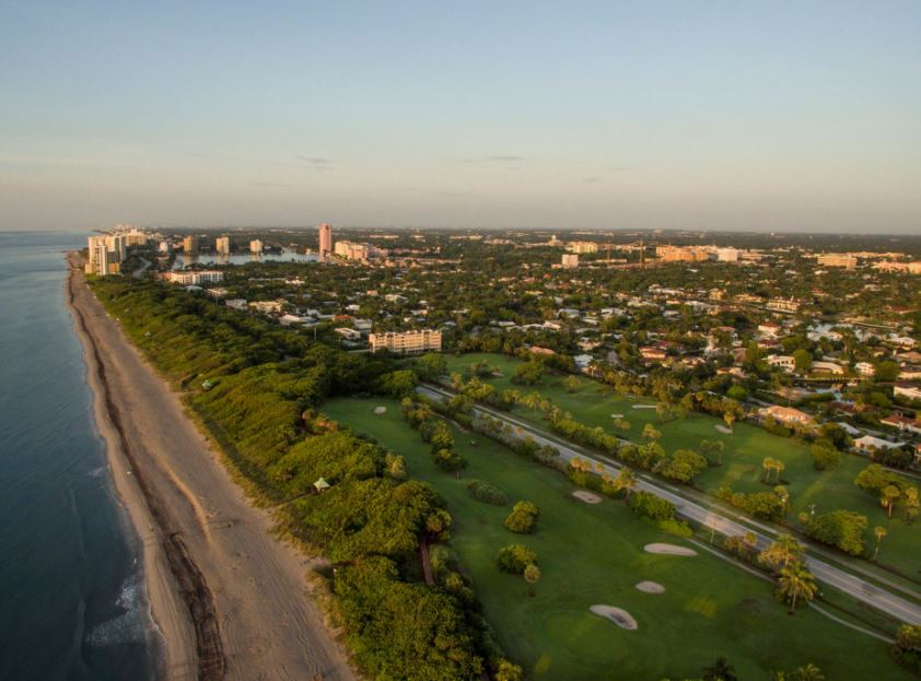 Red Reef Executive Golf Course, Boca Raton, Florida, 33432 - Golf Course Photo