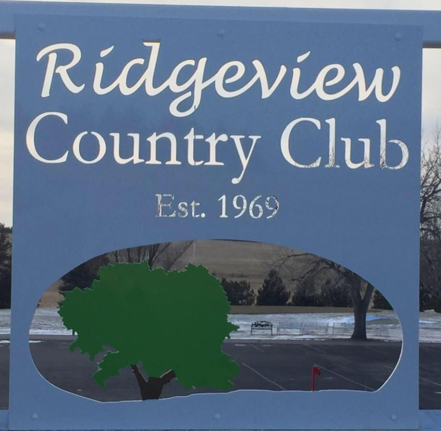 Golf Course Photo, Ridgeview Country Club, Chadron, Nebraska, 69337