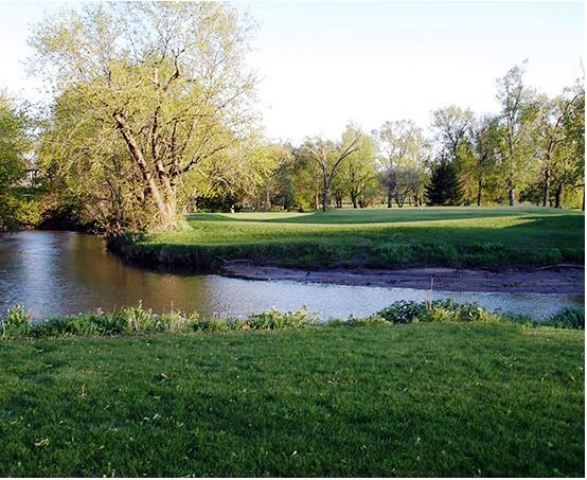 Golf Course Photo, River Bend Municipal Golf Course, Story City, Iowa, 50248